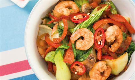 This diabeti… this diabetic vegetarian stir fry recipe is a family favorite at my house. Spicy prawns and pak choi stir-fry   Diabetes UK