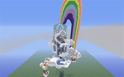 rainbow dashs housein minecraft mc forum unable post  fan works mlp forums