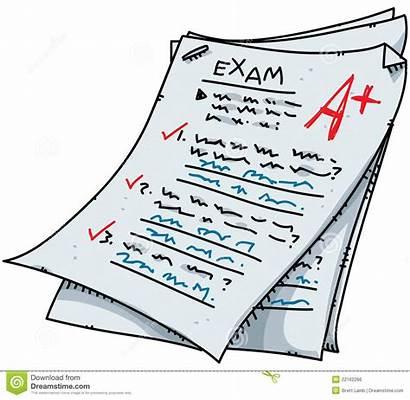 Exam Cartoon Test Results Result Illustration Ten