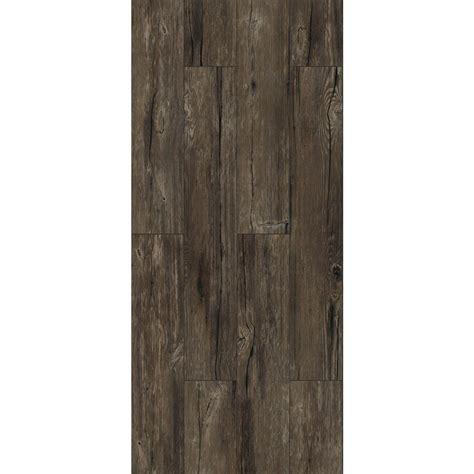 vinyl plank flooring peel and stick trafficmaster walnut ember grey 6 in x 36 in peel and
