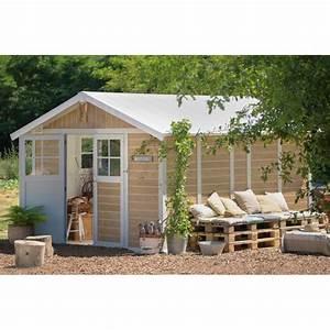 Abri De Jardin En Kit : abri de jardin en pvc 11 2m deco sherwood grosfillex ~ Dailycaller-alerts.com Idées de Décoration