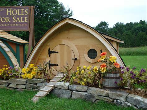 Hobbit Hole Von Wooden Wonders Vom Hühnerstall Bis Zum