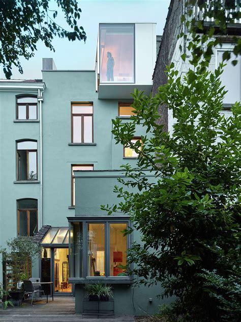 terraced house renovation terraced house renovation edouard brunet fran 231 ois martens archdaily