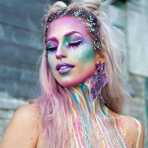 einhorn schminken erwachsene regenbogenfarben verlaufen einhorn schminken erwachsene carnival a in 2018