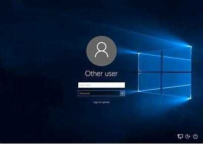 Windows Login Come Accesso Opzioni Screen Username
