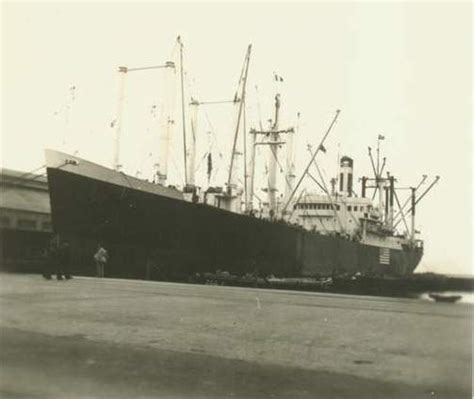 German U Boats Sunk American Ships by Santa American Steam Merchant Ships Hit By German