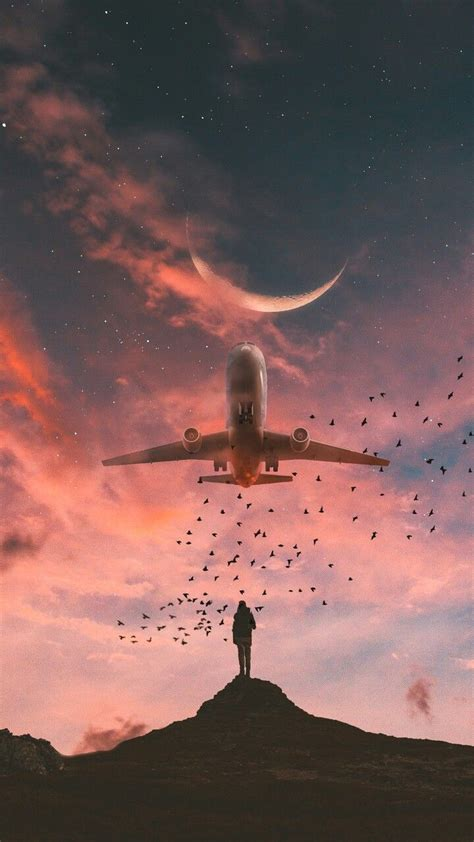 volando hacia  futuro por cumplir wallpaper