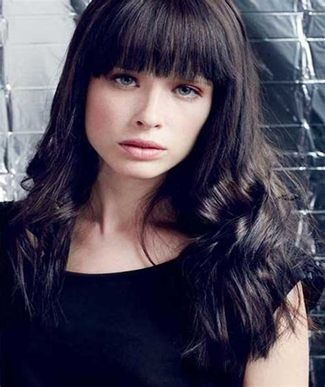 Hairstyles For 2015 by 25 Hairstyles With Bangs 2015 2016 Hairstyles