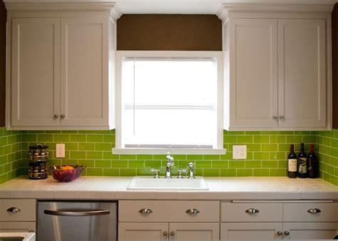 Lush® Glass Subway Tile   Lemongrass 3x6   HOME SPACE