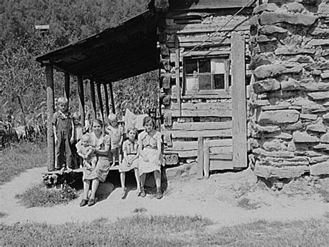 mountain family  porch   home   hand hewn