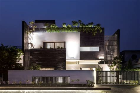 Modern Contemporary Residence  Charged Voids The