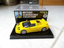 Great names as michael schumacher f1 legend achievement pebalap seven times world champion trying to become the vehicle of the bugatti brand. Bugatti Eb 110 Michael Schumacher Collection Nr. 15 MINICHAMPS 1/43 F1   eBay