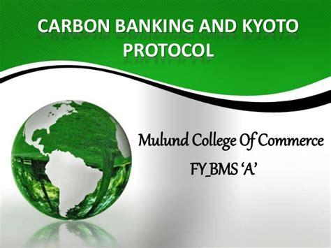 carbon bank kyoto protocol