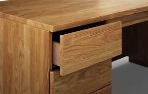 Schreibtisch Massivholz Eiche : columbus aus eiche rustikal schreibtisch nach ma ~ Whattoseeinmadrid.com Haus und Dekorationen