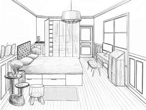 chambre en perspective les 26 meilleures images du tableau dessins sur dessins chambres et dessin en