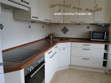 Fliesenspiegel Küche Weiß by Mexiko Fliesen De Mexiko Fliesen Shop