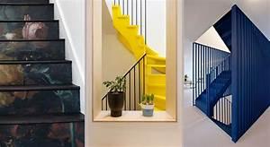 Décoration D Escalier Intérieur : escaliers 20 id es pour un escalier qui change ~ Nature-et-papiers.com Idées de Décoration
