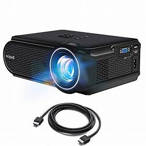 Deeplee Dp90 Mini Projector With Hdmi Cable