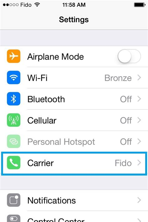 what is carrier settings update on iphone iphone stuck on quot searching quot and can t connect to