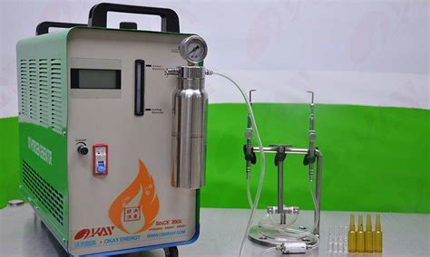 advantages  oxyhydrogen flame generator  glass ampoule sealing compared  traditional