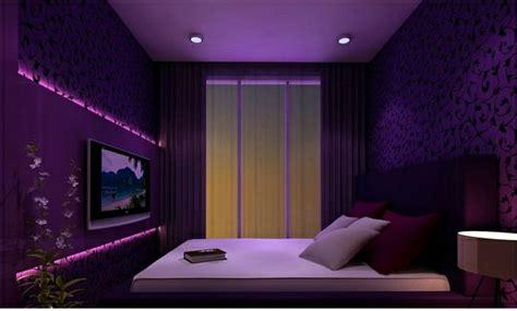 Beautiful Purple Bedroom