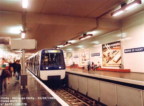 porte de clichy metro linea 13 metro parigi