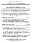 Resume Sample For RETAIL SALES STORE MANAGER Photos Assistant Manager Resume Retail Jobs Job Description Exandles Retail Manager Resume Development Professional Retail Resume Samples Retail Manager Resume Example Free Resume Templates