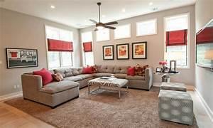 Mediterranean- style Living Room Contemporary Living Room ...