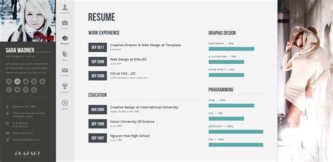 Profiler  Vcard Resume Wordpress Theme By Templaza