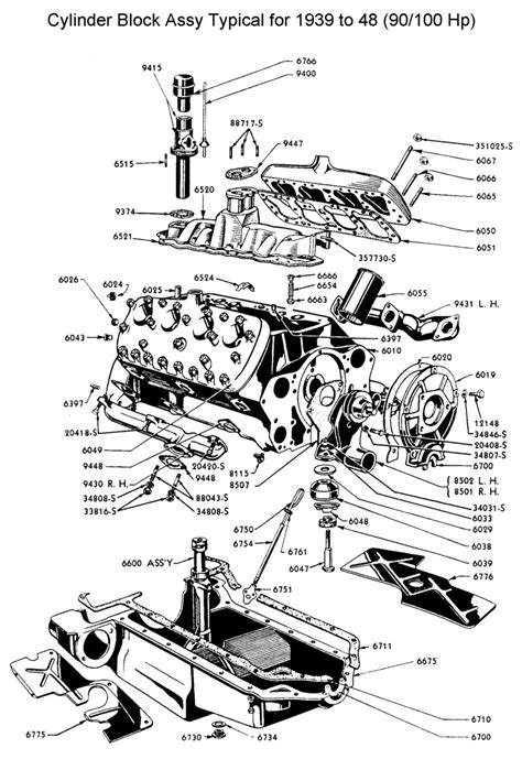 Ford V8 Engine Diagram by Flathead Ford Engines Lost Wages