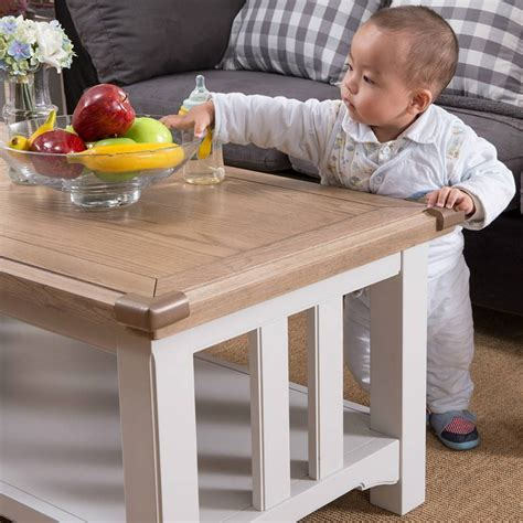 baby proof coffee table coffee table kid friendly end tables baby proof coffee 4238