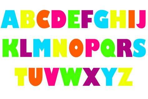 letters in the alphabet capital letters
