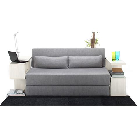 Seatpacking Sofa Bed Light Grey Nyfu Touch Of Modern