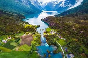 Beautiful, Nature, Norway, Natural, Landscape, Aerial