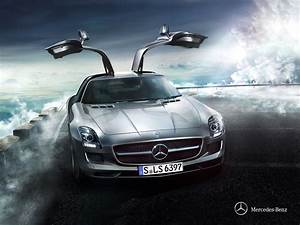 wallpapers hd for mac: Mercedes Benz SLS E63 AMG Wallpaper