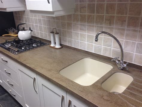 corian worktops of the home