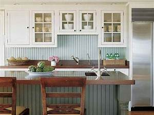 15 beadboard backsplash ideas for the kitchen bathroom With kitchen cabinets lowes with cottage style wall art