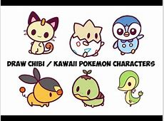 How to Draw Pokemon Characters Step by Step Easy for Kids