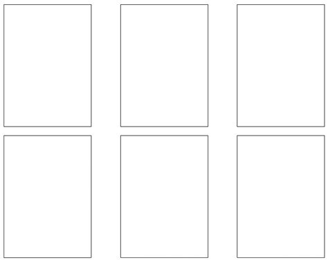 Trading Card Template Free Trading Card Template Pdf