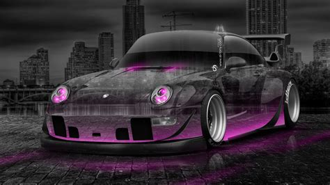 porsche  tuning crystal city car  el tony