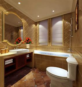 Luxury bathroom 3D Model max - CGTrader com
