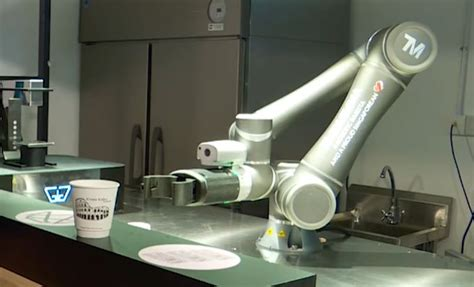 What we've done is integrate that with a payments system and a robot, and we created ella. Ella 6-Axis Robot Turned Into a Barista - Robotic Gizmos