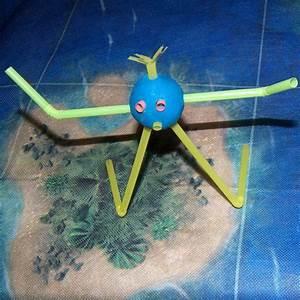 Bricolage A Faire Avec Des Petit : bricolage enfant 3 ans et monstres rigolos ~ Melissatoandfro.com Idées de Décoration