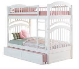 white bunk beds with stairs and trundle images