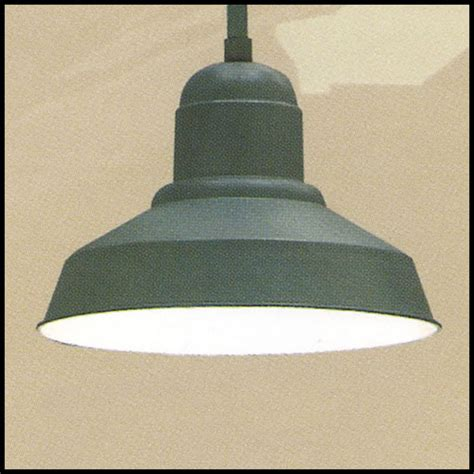 20in contemporary self ballasted warehouse shade pendant