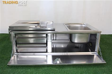 kitchen sink parts and accessories stainless steel camper trailer kitchen 2 drawers sink