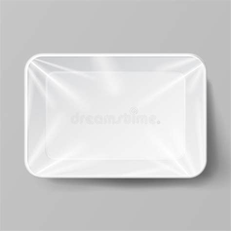 Please note, the 3d model is intentionally simplified and optimized for viewing in your browser. Plastic Tray Vector. Transparent Food Container Tray Wrap ...