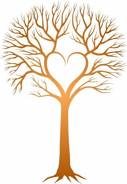 Tree Trunk Clipart Bare Brown Clipartmag
