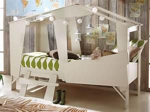 Cabane Chambre Enfant : chambre d 39 enfant dans mon lit cabane plumetis magazine ~ Teatrodelosmanantiales.com Idées de Décoration