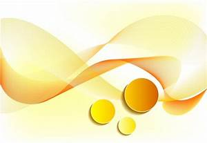 Abstract Background Yellow Design Curved Lines Circles